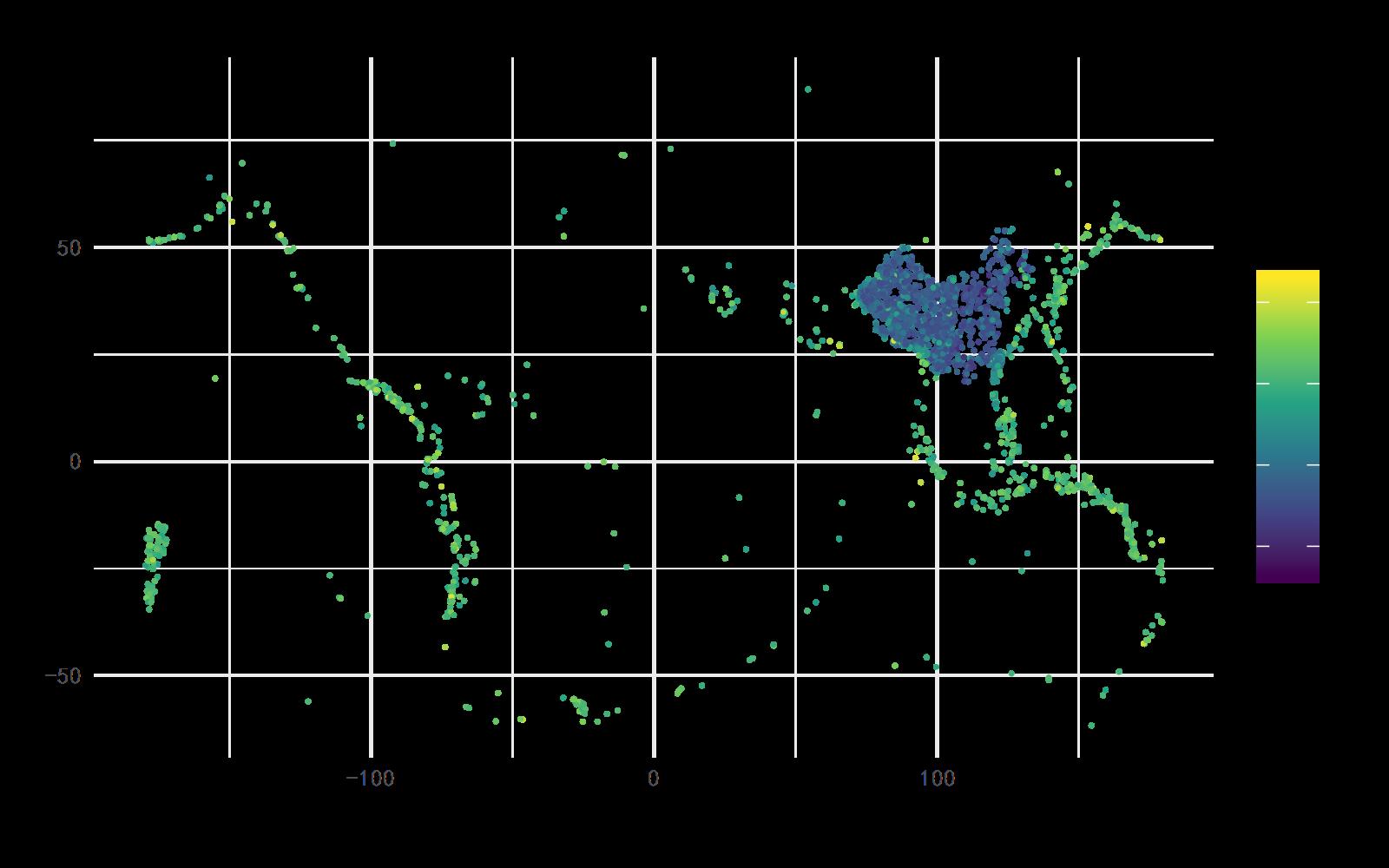 世界各地地震情况